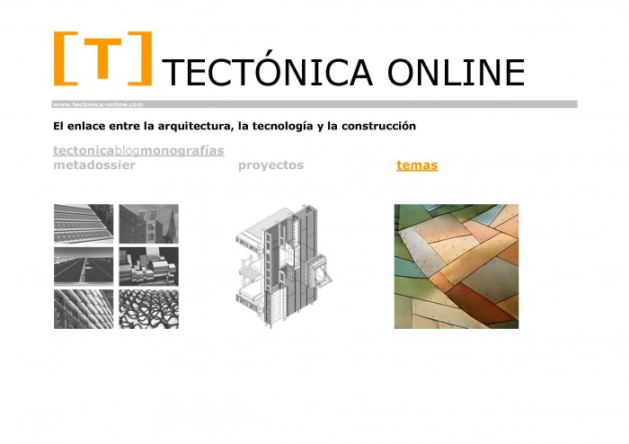TECTÓNICA ONLINE