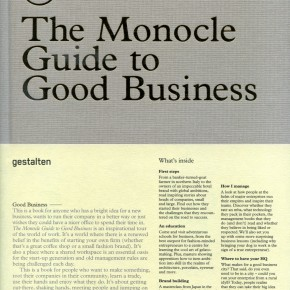 THE MONOCLE  GUIDE TO GOOD BUSINESS / NUEVO LIBRO