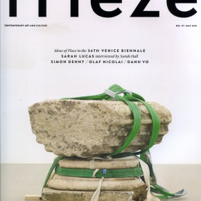 FRIEZE Nº 171 / CONTEMPORARY ART AND CULTURE