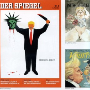 TRUMP, EL NUEVO VILLANO DE LA ICONOSFERA GLOBAL / REVISTA VISUAL Nº 185