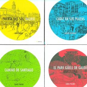 Paseando por los lugares más representativos de España a través de las ilustraciones  de famosos urban sketchers como Sagar, Arturo Redondo, Jorge Arranz…
