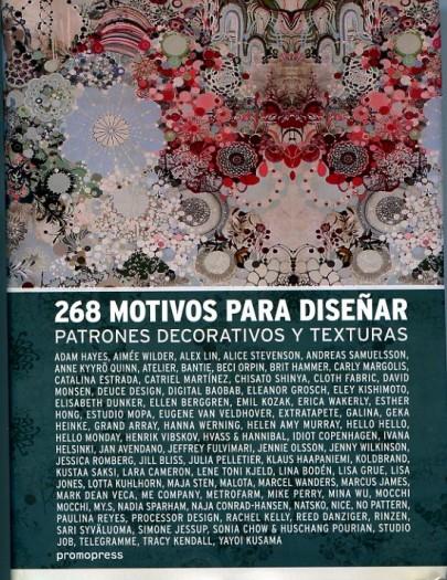 268 Motivos para diseñar patrones decorativos y texturas