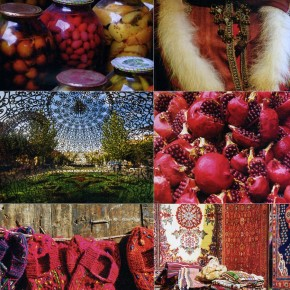 THE COLOUR OF POMEGRANATES / SELVEDGE Nº85